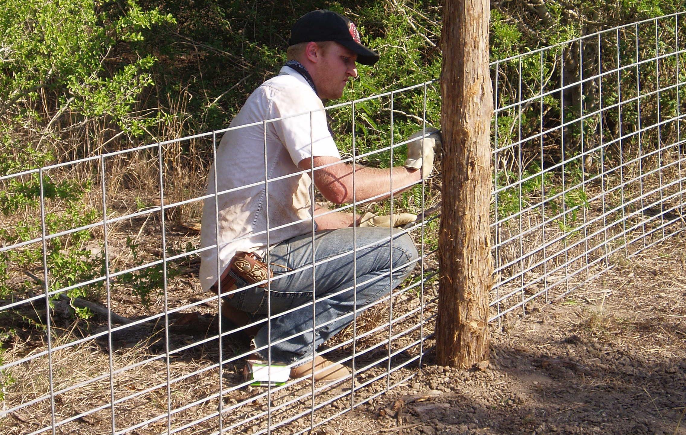 8-Installing Protective Hog Panel