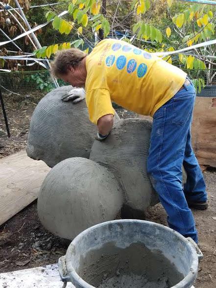 5-David Carves the Mushroom Shape