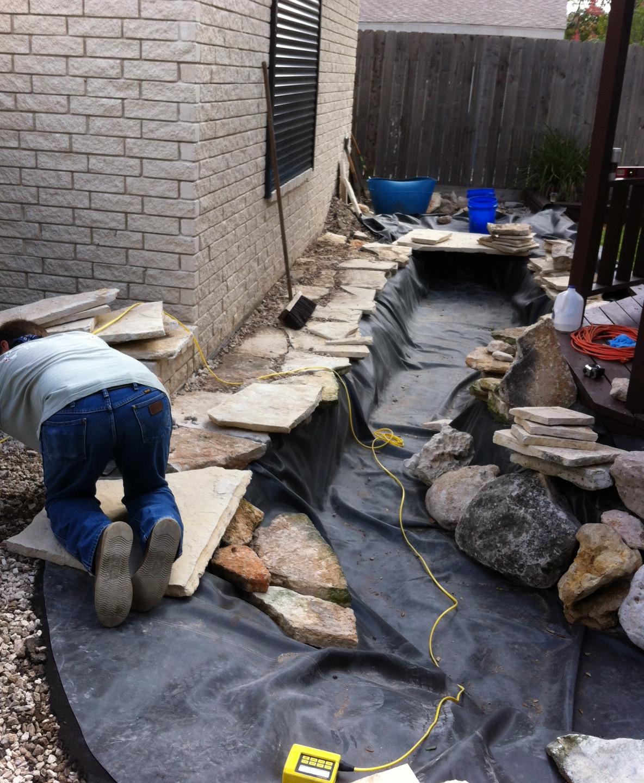 11-Working on Rock Edging