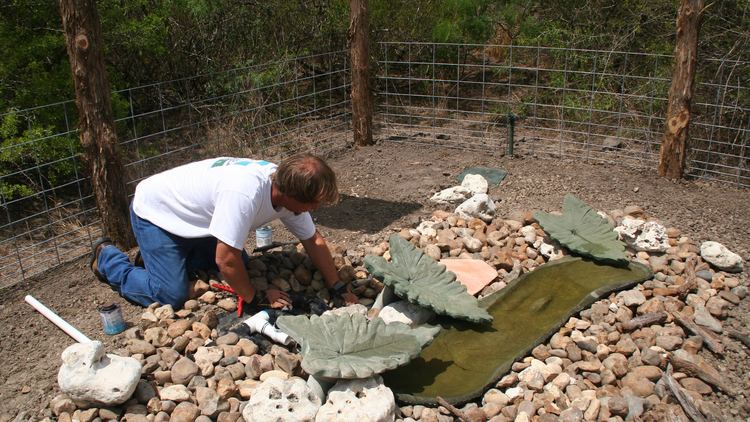 15-Plumbing of Water Feature