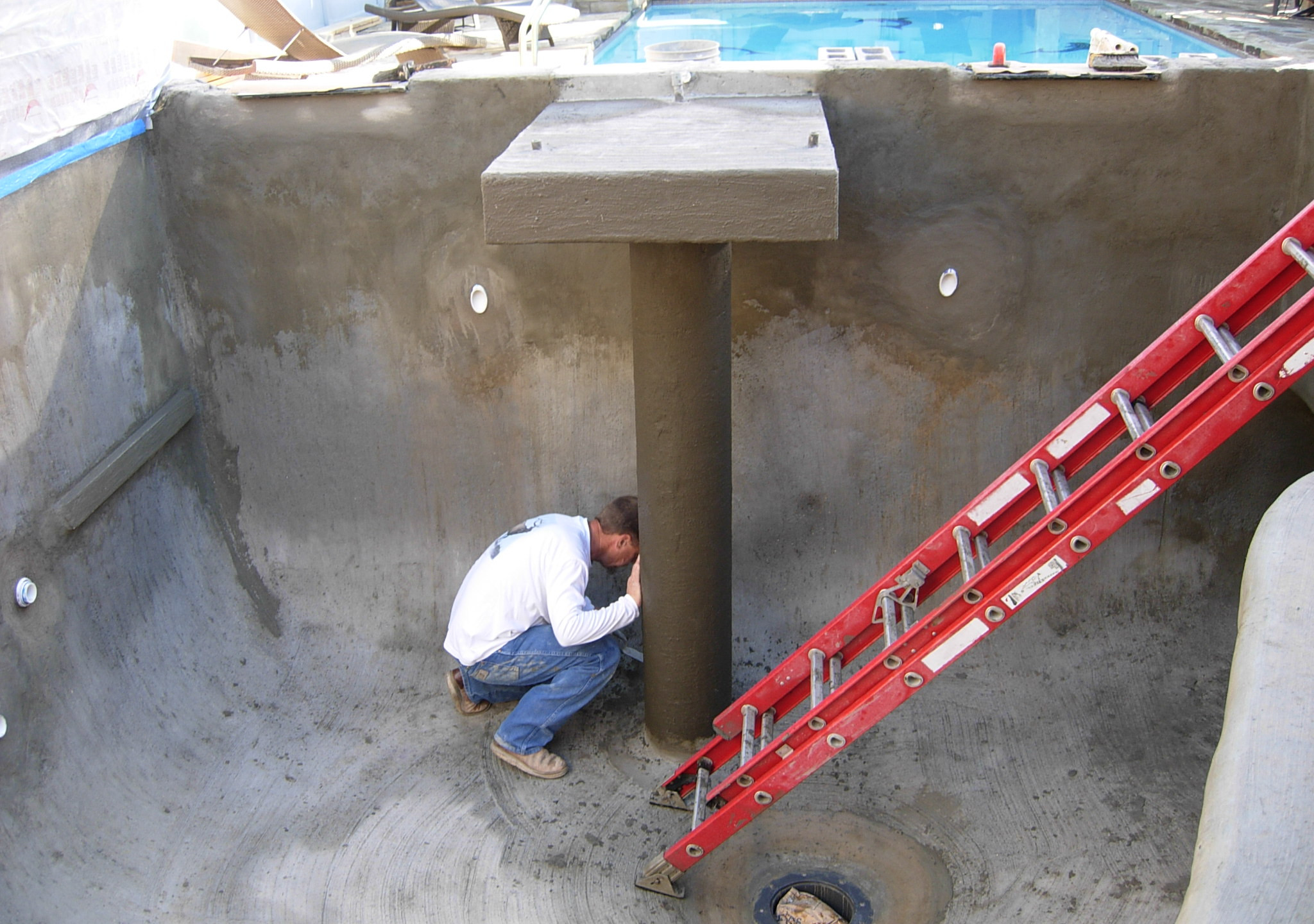 27-Prepping Concrete Column for Carving