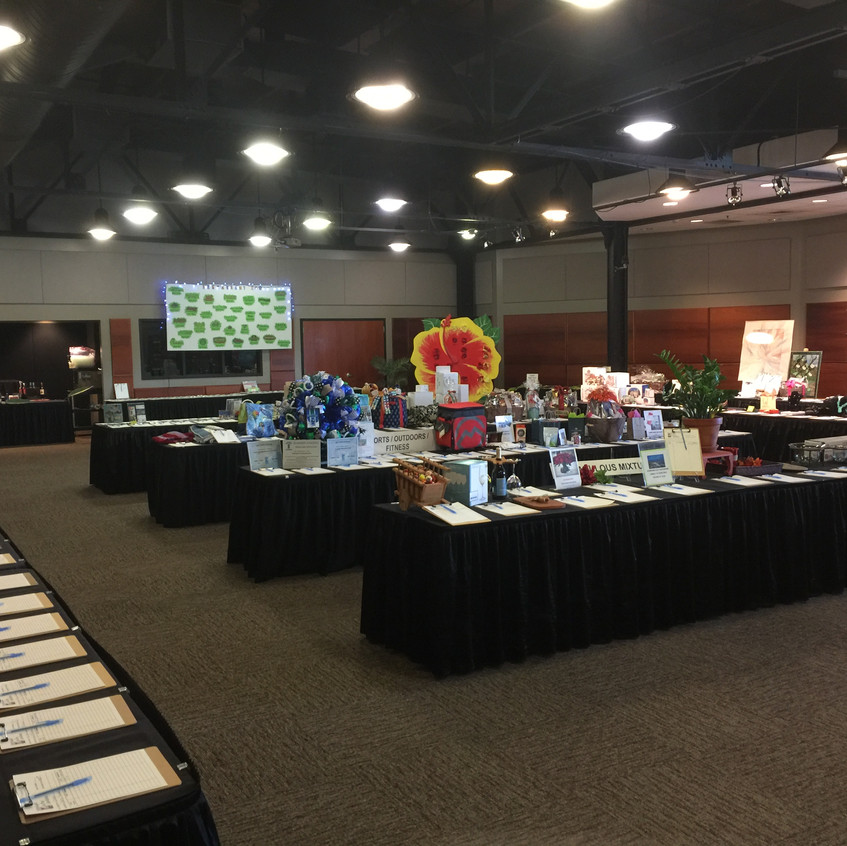 1-Silent Auction Room Set-Up
