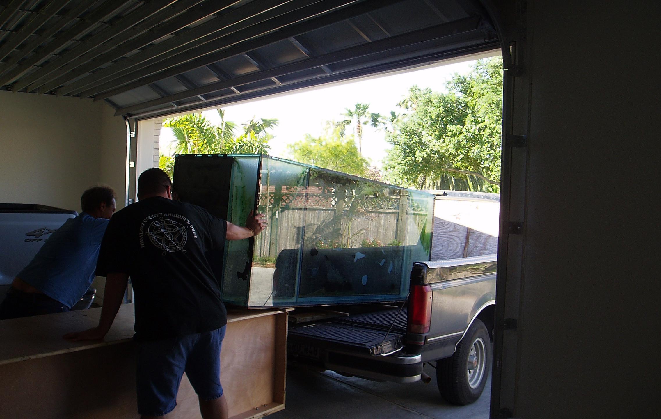 1-Load Up of Aquarium