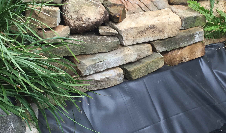 31-WaterFall Rock Work Finished