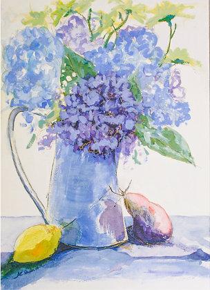 Hydrangeas & Pears