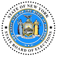 NYS Board of Elections Logo