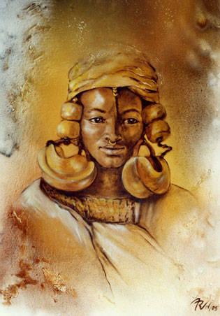 Fulani Frau