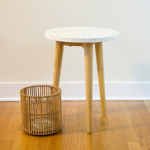 Stone Side Table