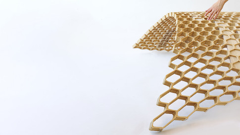 Hybrid Additive Manufacturing of Self-Shaping Building Components