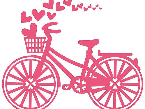 Bike with Hearts