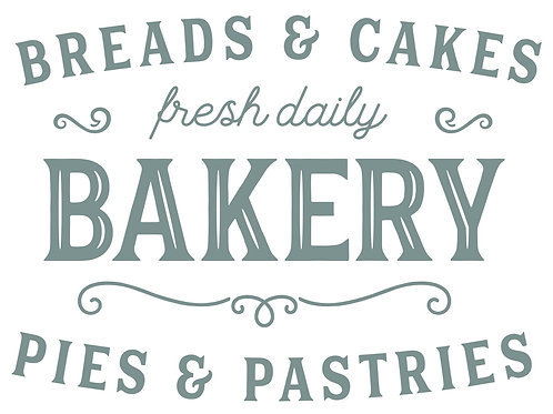 Bread and Cakes Bakery Take Home Kit