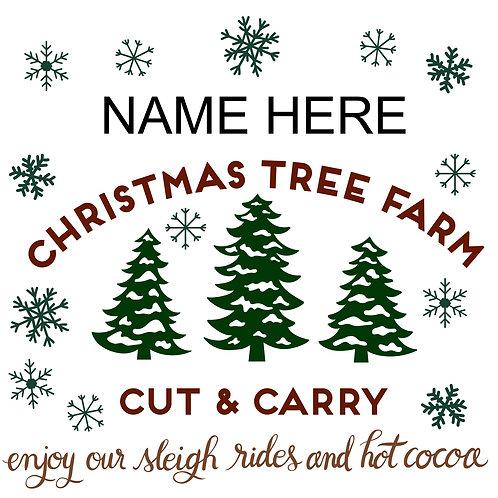 Custom Christmas Tree Farm