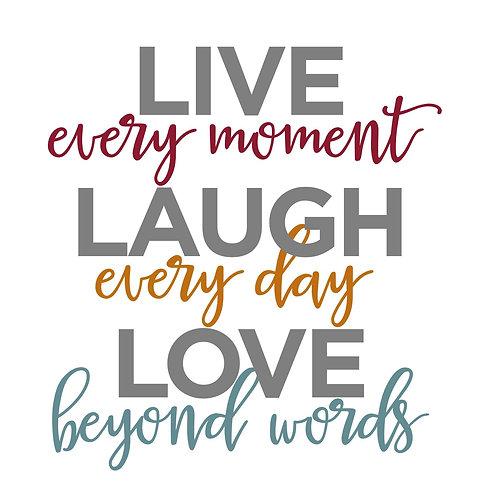 Live Laugh Love WTC