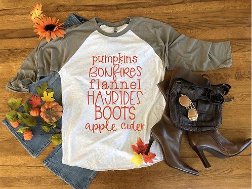 Pumpkins & Bonfires