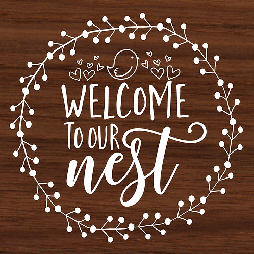 Welcome to our Nest 6/26/19