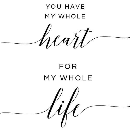 Whole Heart/Life Couple
