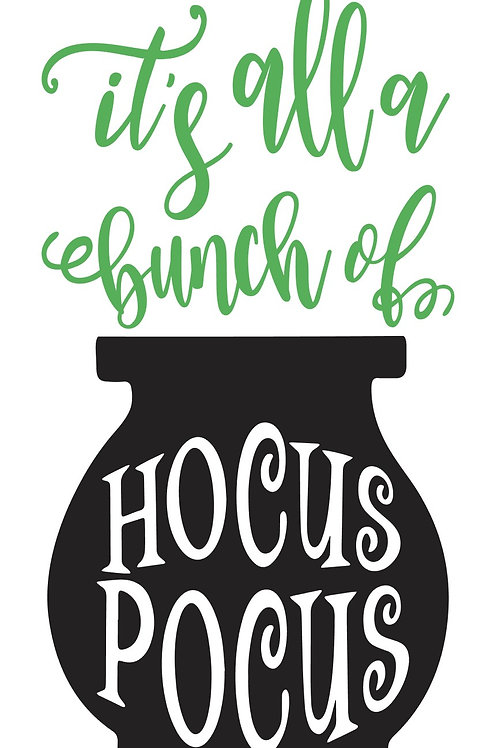 Hocus Pocus Porch Sign