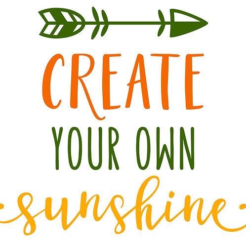 Create your own Sunshine 6/26/19