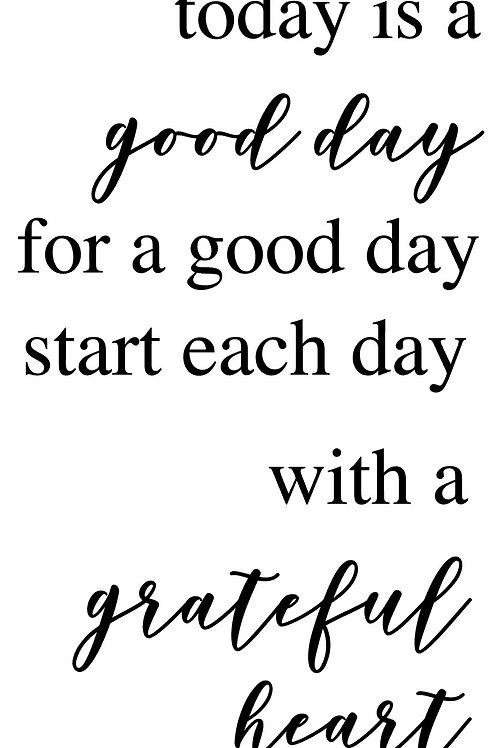 Good Day/Grateful Heart Couple