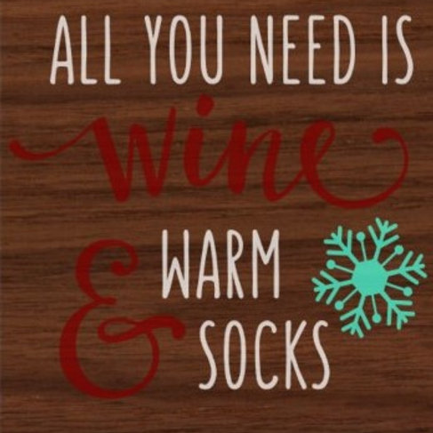 Wine and Warm Socks CM