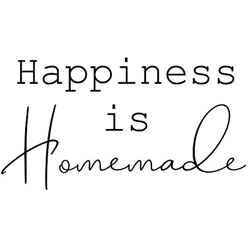 Happiness is Homemade NB