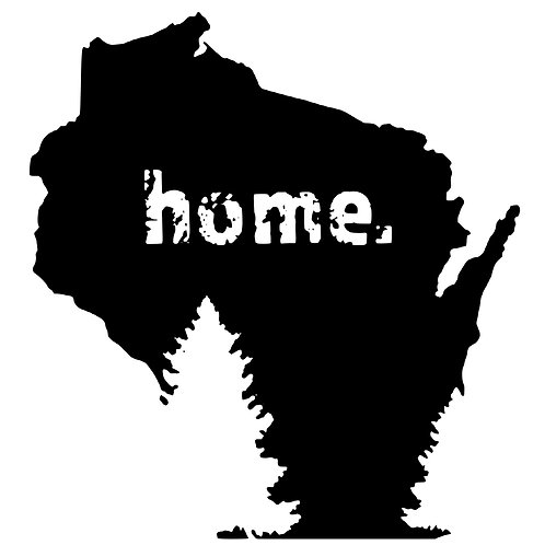 Wisconsin Home with Trees CM