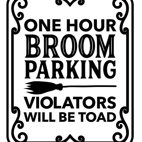 One Hour Broom Parking