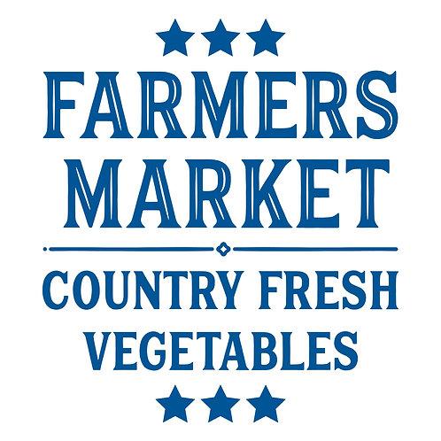 Farmers Market Country Fresh Veg