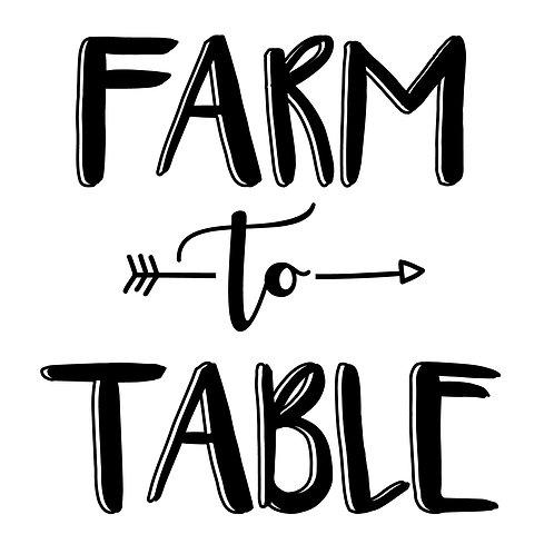 Farm to Table NB