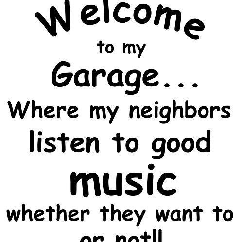 Welcome to my Garage MBC