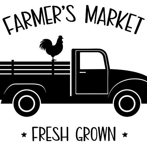 Farmer's Market Fresh Grown