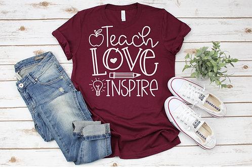 Teach Love Inspire Crew Tee