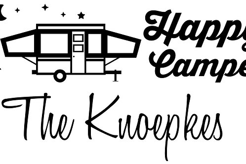Happy Campers Personalized MBC