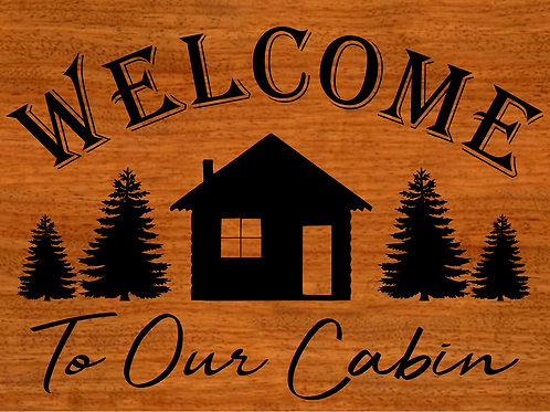 Welcome to our Cabin 5/22/19