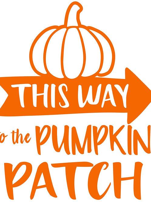Pumpkin Patch 9/18/19