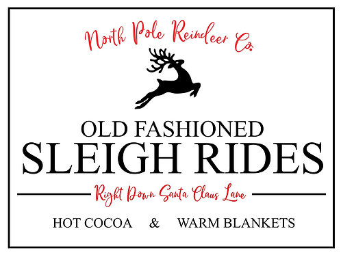 Old Fashioned Sleigh Rides