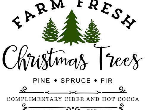 Farm Fresh Christmas Trees PE