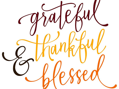 Grateful Thankful Blessed MBC