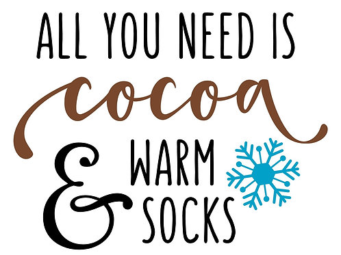 Cocoa and Warm Socks