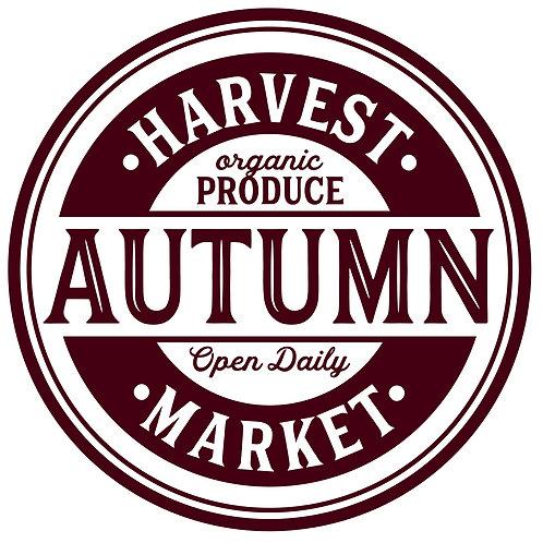 Autumn Harvest Market 9/18/19
