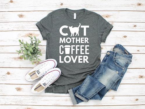 Cat Mom Crew Tee