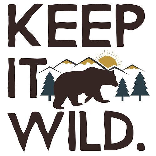 """Keep it Wild 12""""x12"""""""