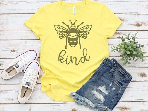 Bee Kind 1 Crew Tee
