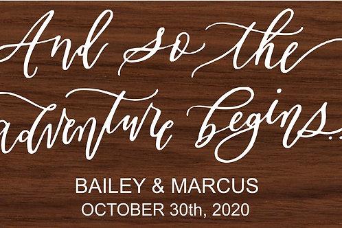 Bailey & Marcus 5/22/19