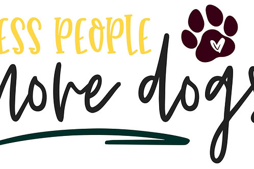Less People More Dogs WTC