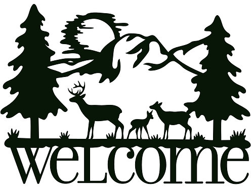 Welcome with Deer CM