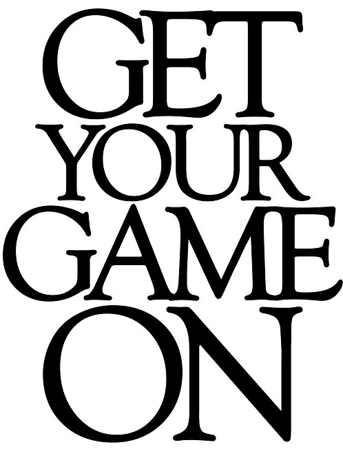 Get Your Game On 10x12