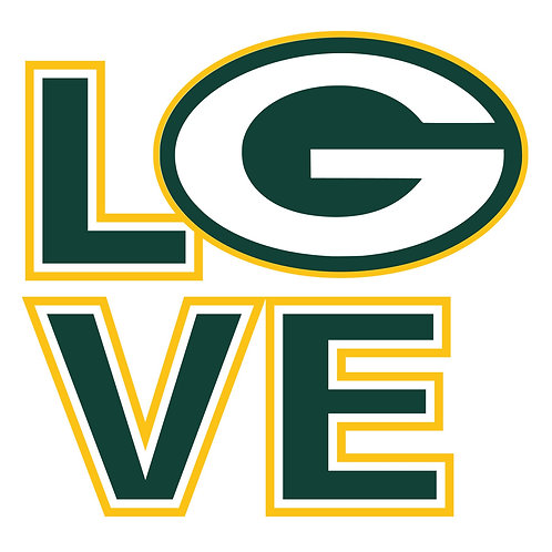 Love Packers 12x12