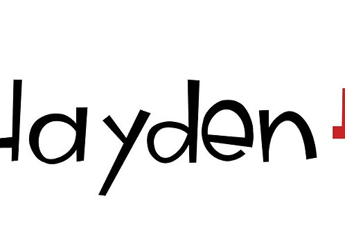 Hayden's Custom Take Home Kit