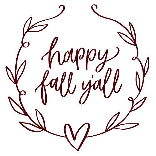 Happy Fall Mini